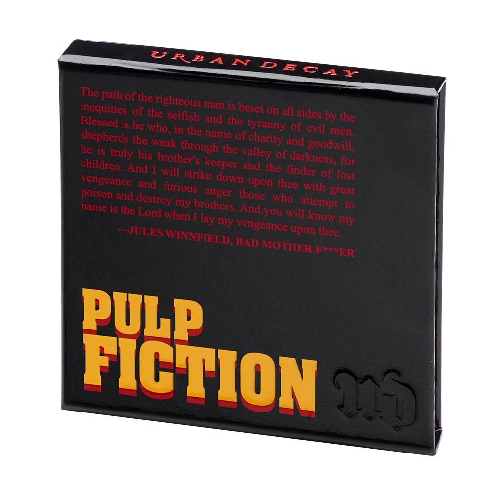 Urban Decay Limited Edition Pulp Fiction Collection The Dieline Package Design Resource
