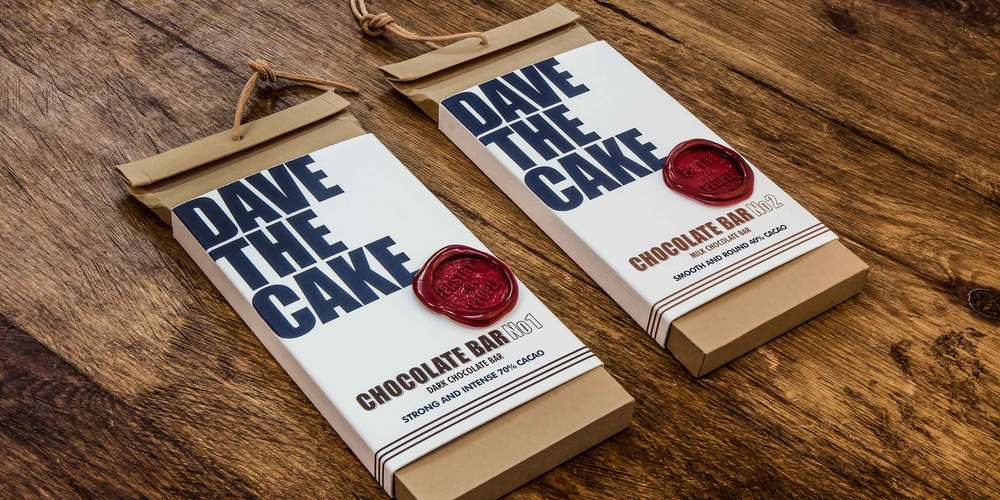 Dave the Cake   The Dieline - Branding & Packaging Design