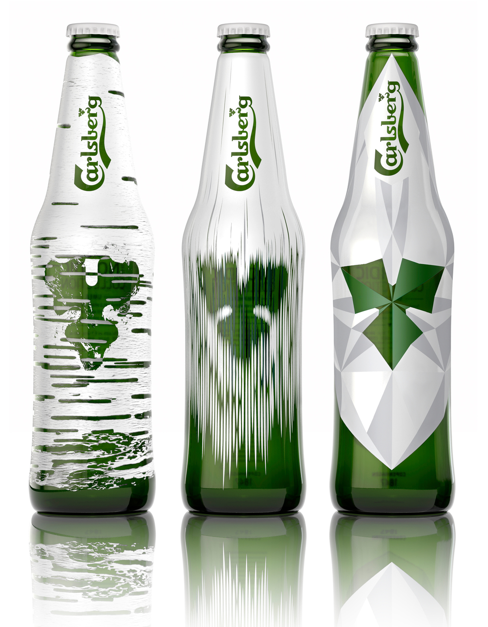Carlsberg limited edition bottles