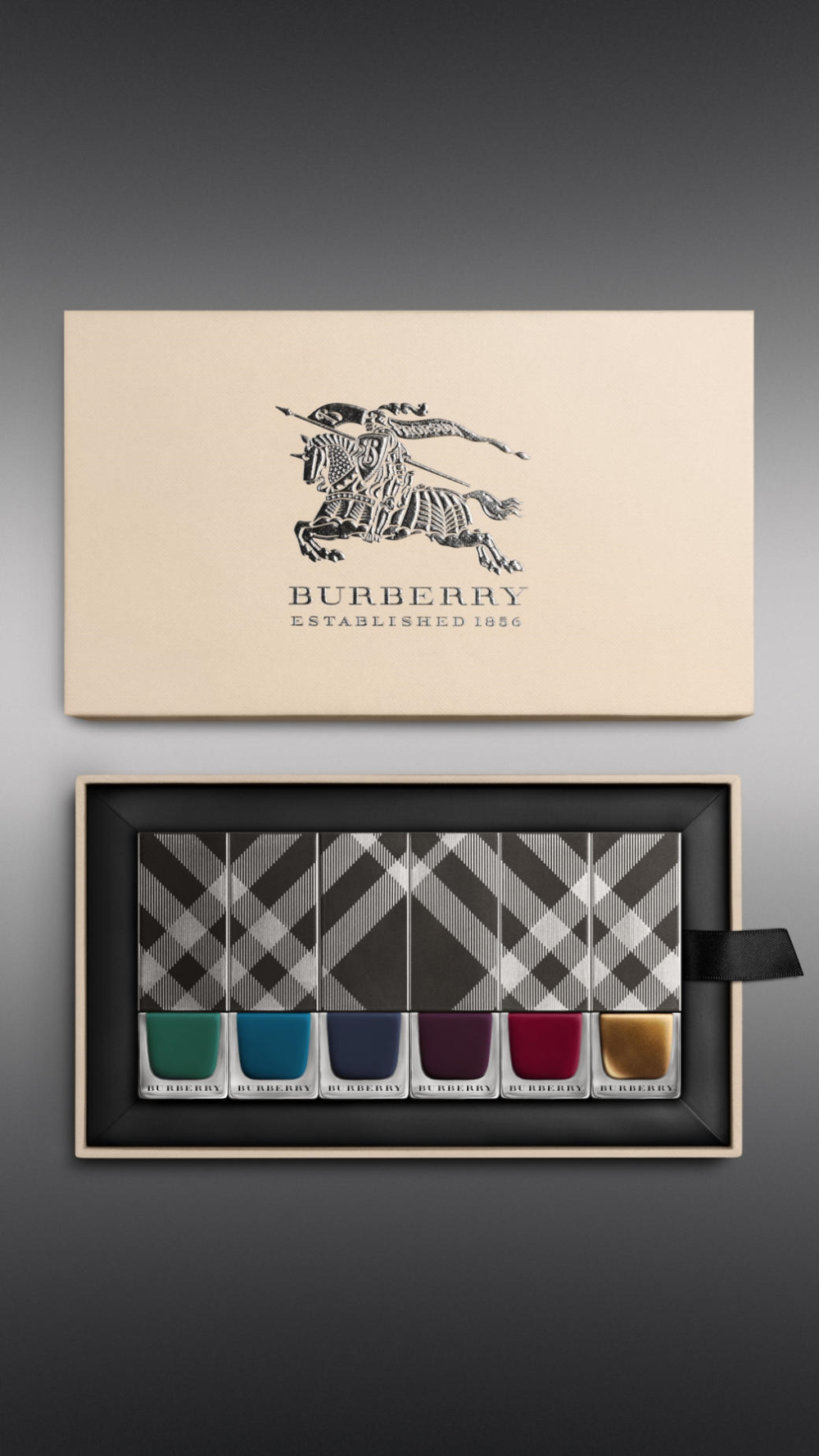 Burberry Autumn Winter 2014 Nail Collection The Dieline