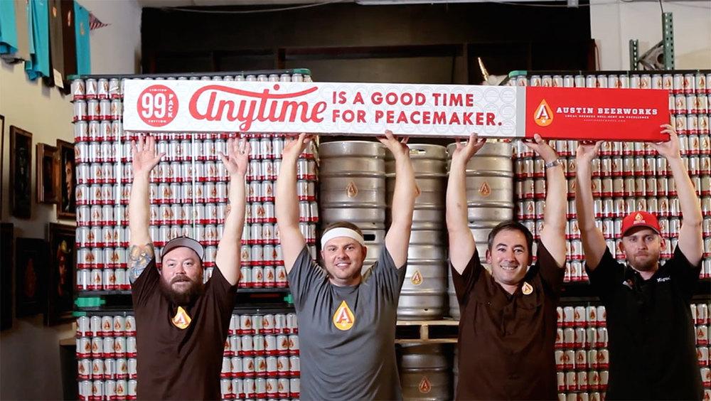 99 Pack of Beer by Austin Beerworks — The Dieline ...