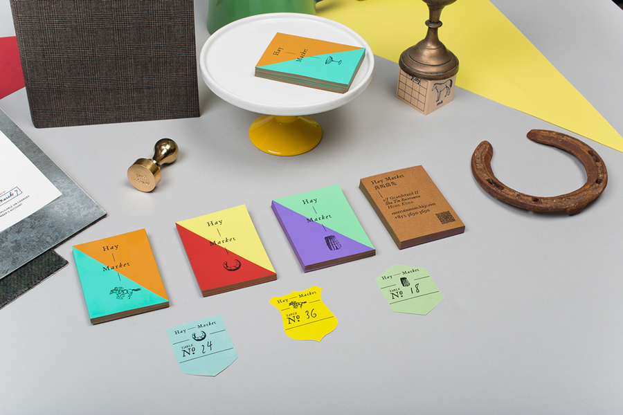Thiết kế catalogue và hệ thống nhận diện thương hiệu cho HAY MARKET