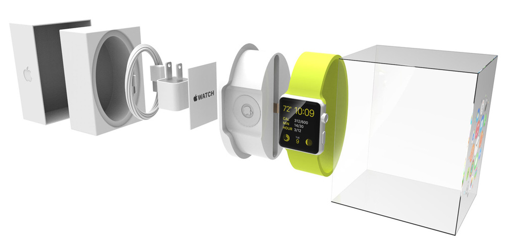 Charging dock serves as display within the retail packaging design.