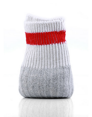 A pair of wool socks to keep you warm.