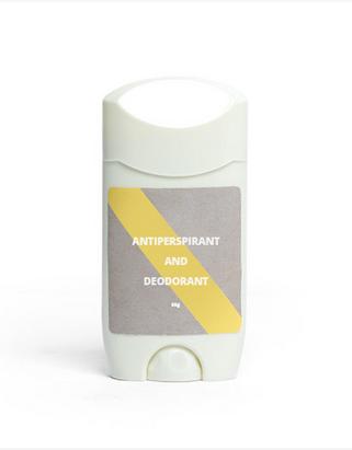 65g antiperspirant & deodorant stick.