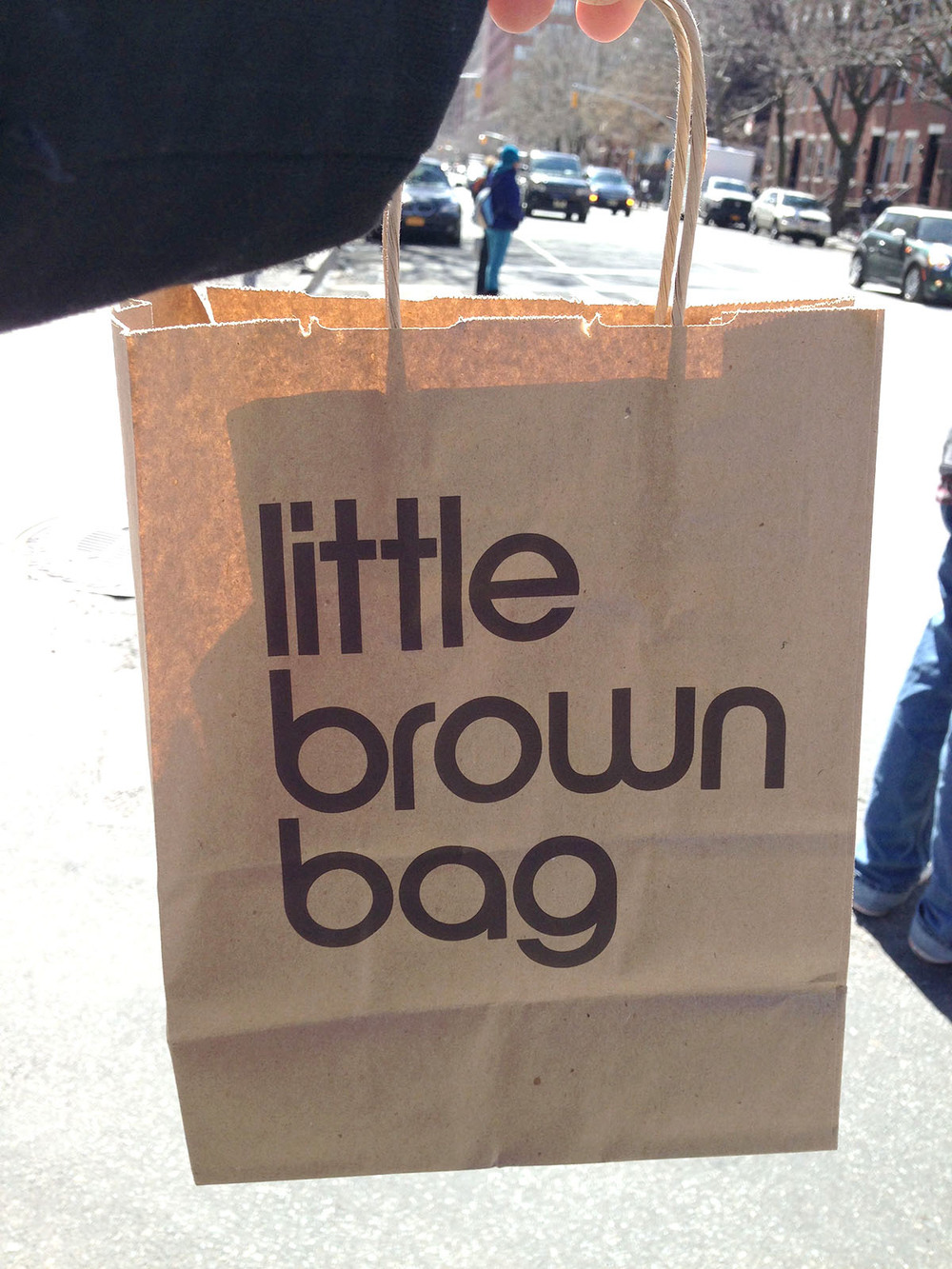 Made of basic kraft paper with a single color print, a iconic series of bags designed by the iconic designer, Massimo Vignelli, has transformed the basic utility of a shopping bag from holding your goods to a fashion status symbol. It has become so popular, they eventually took the iconic design and evolved it to a true fashion accessory bag available in leather and waterproof versions.