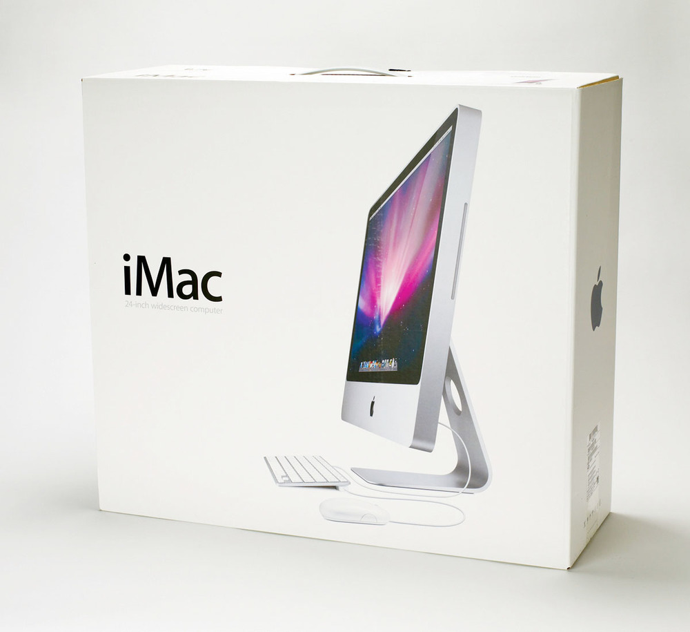 Visit most creative studios and you will find at least 1 or 2 iMac boxes sitting in a storage room or under a designers desk. While some designers possibly keep them in case of very rare return to the Apple store, most love their iMac computers so much - it's worth keeping the box around in case of a home or office move. Simply designed and sturdy enough to last 5-10 years, designers will continue to keep these beautiful boxes arounds 'just in case' they need to move their favourite computer.