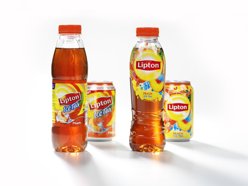 Before & After: Global re-design for Lipton Ice Tea — The Dieline ...