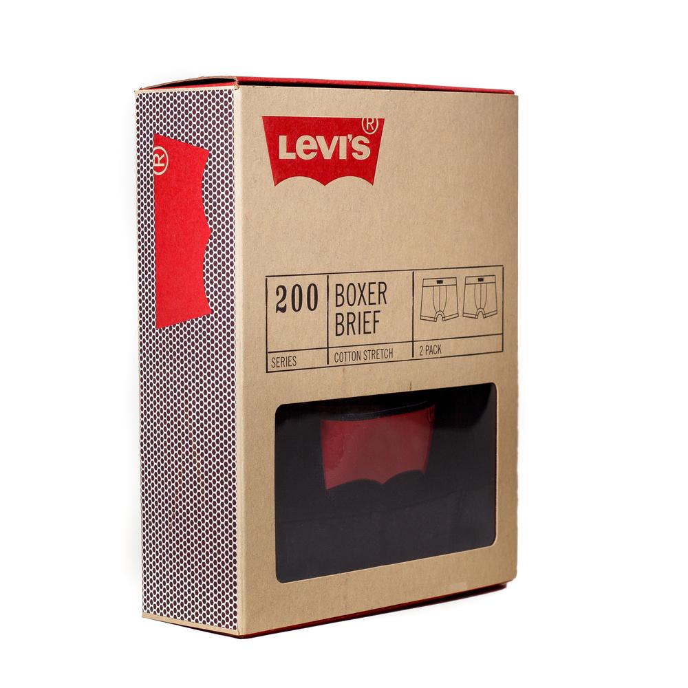 Levi 39 s basics the dieline branding packaging for Packaging ropa interior
