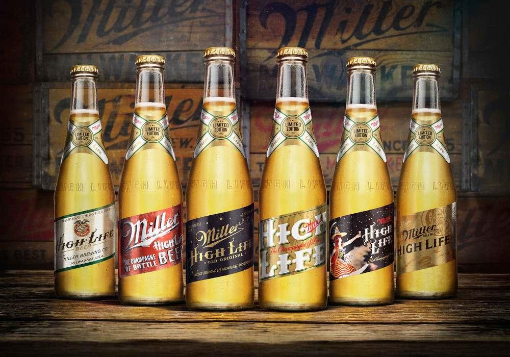 Miller High Life Heritage Series The Dieline Packaging