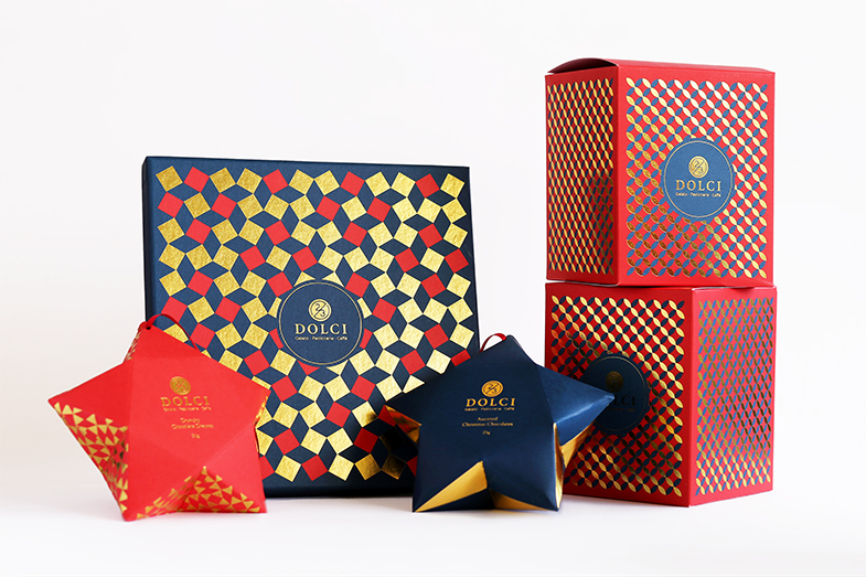 2/3 Dolci Christmas Collection — The Dieline | Packaging ...