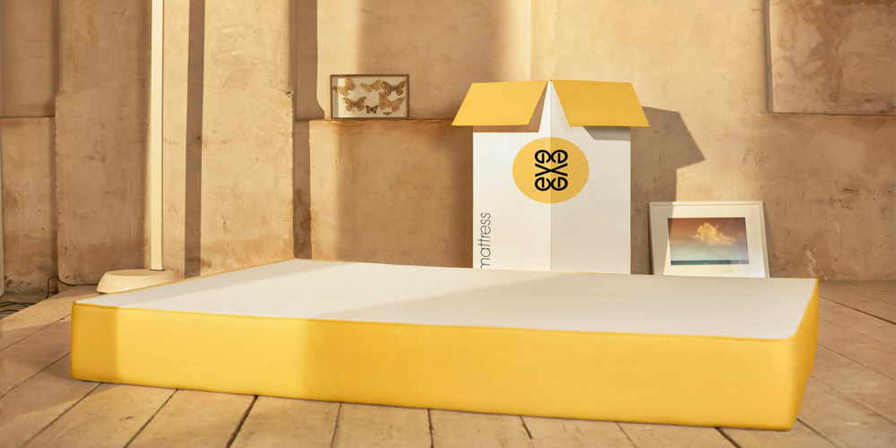 The Eve Mattress The Dieline Packaging Amp Branding