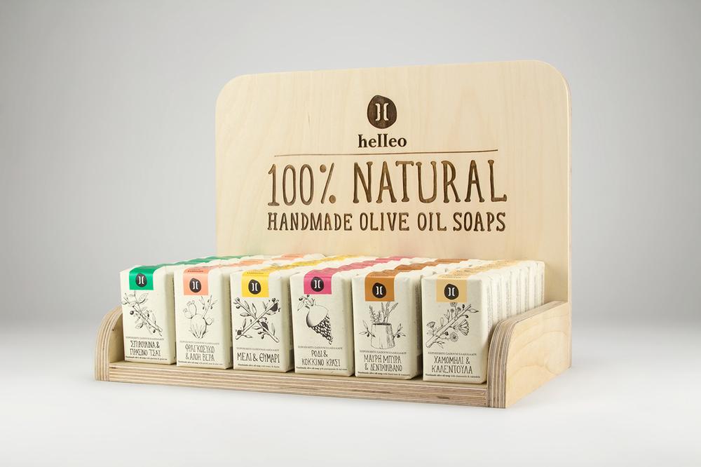 Helleo Natural Soaps The Dieline Branding amp Packaging