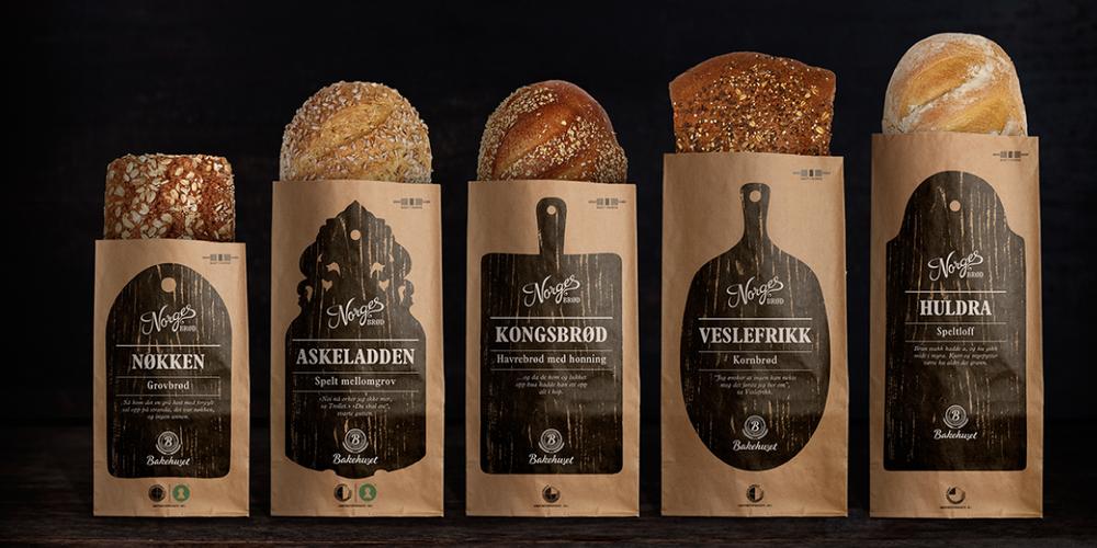 Norwegian Bread The Dieline Packaging Amp Branding