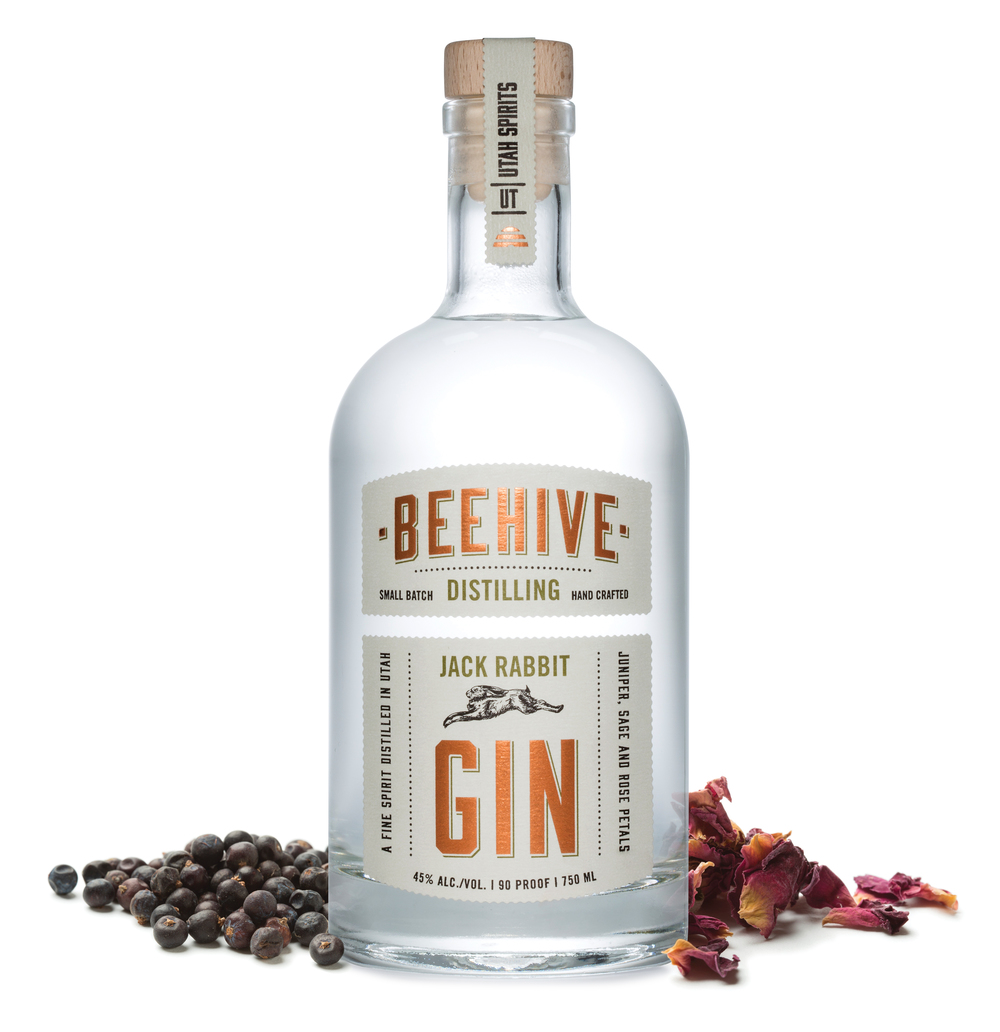 Beehive Distilling Jack Rabbit Gin