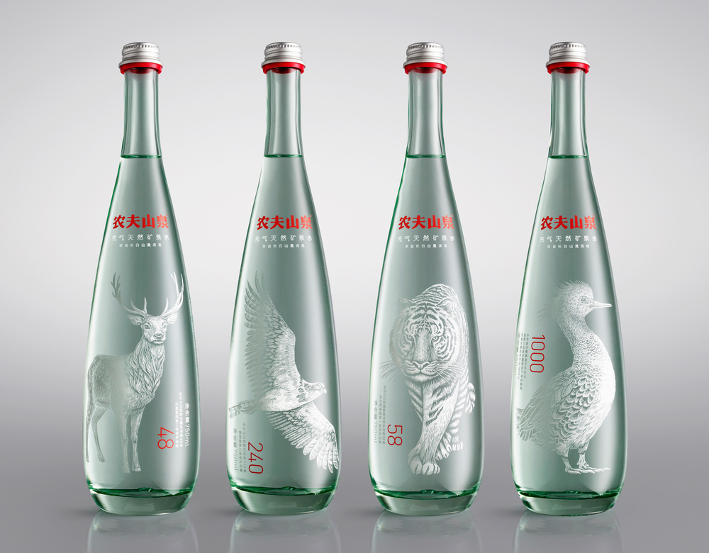 Nongfu Spring Mineral Water The Dieline Packaging