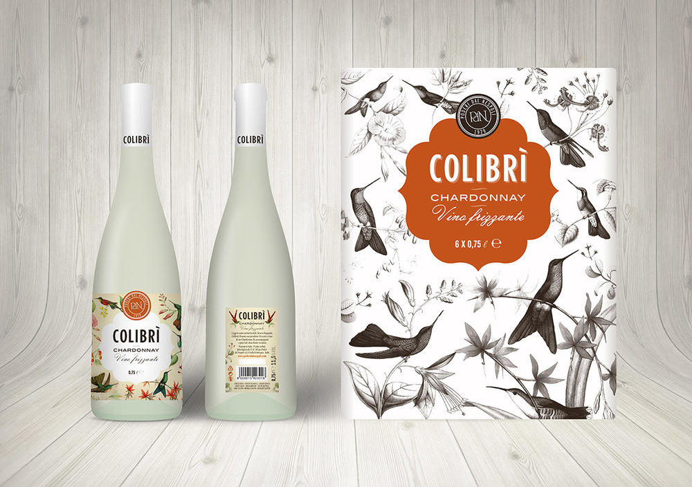 Before & After : Colibri Chardonnay Vino Frizzante
