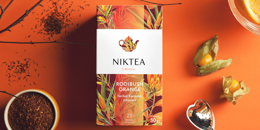 Niktea The Dieline Packaging Amp Branding Design
