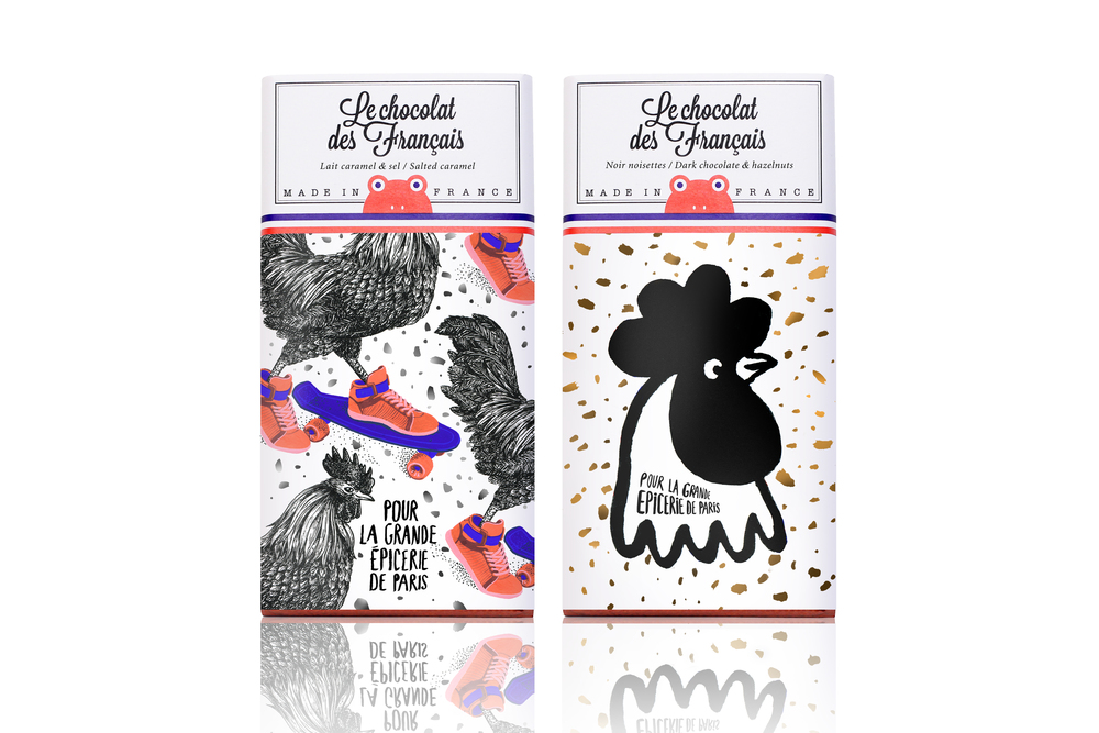 Chocolate Packs Design
