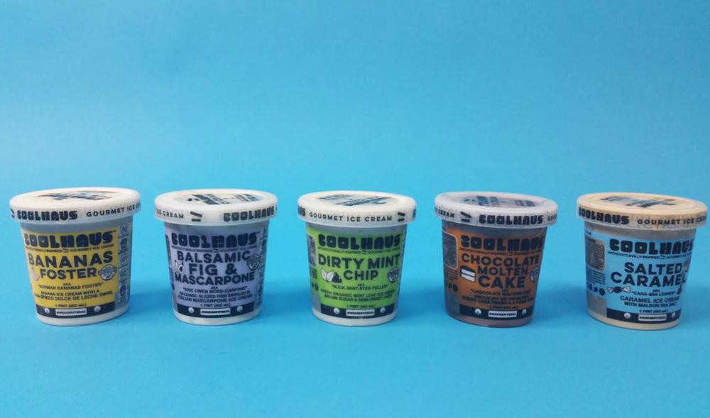 coolhaus ice cream redesign the dieline branding. Black Bedroom Furniture Sets. Home Design Ideas