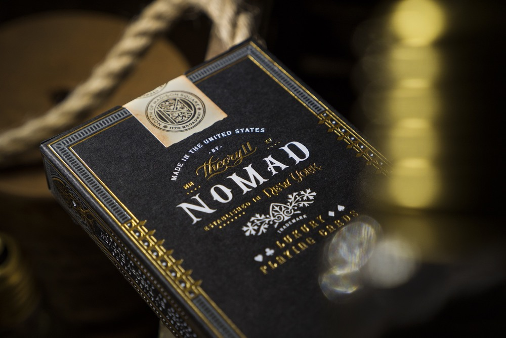 Nomad Luxury Playing Cards The Dieline Branding