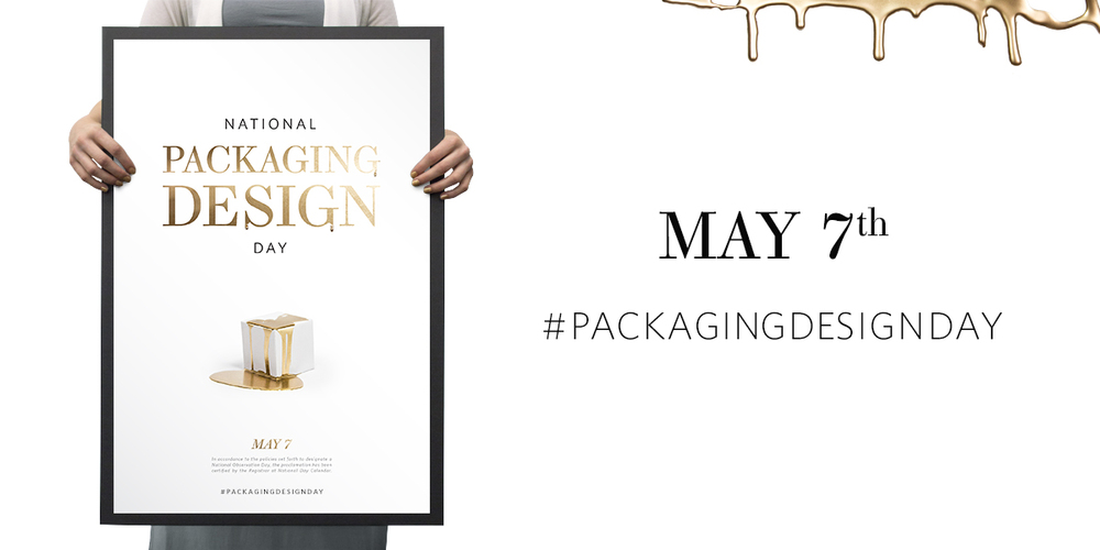 Save The Date National Packaging Design Day May 7th