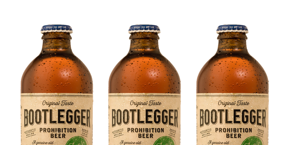 Bootlegger Apple Brew The Dieline Branding Amp Packaging