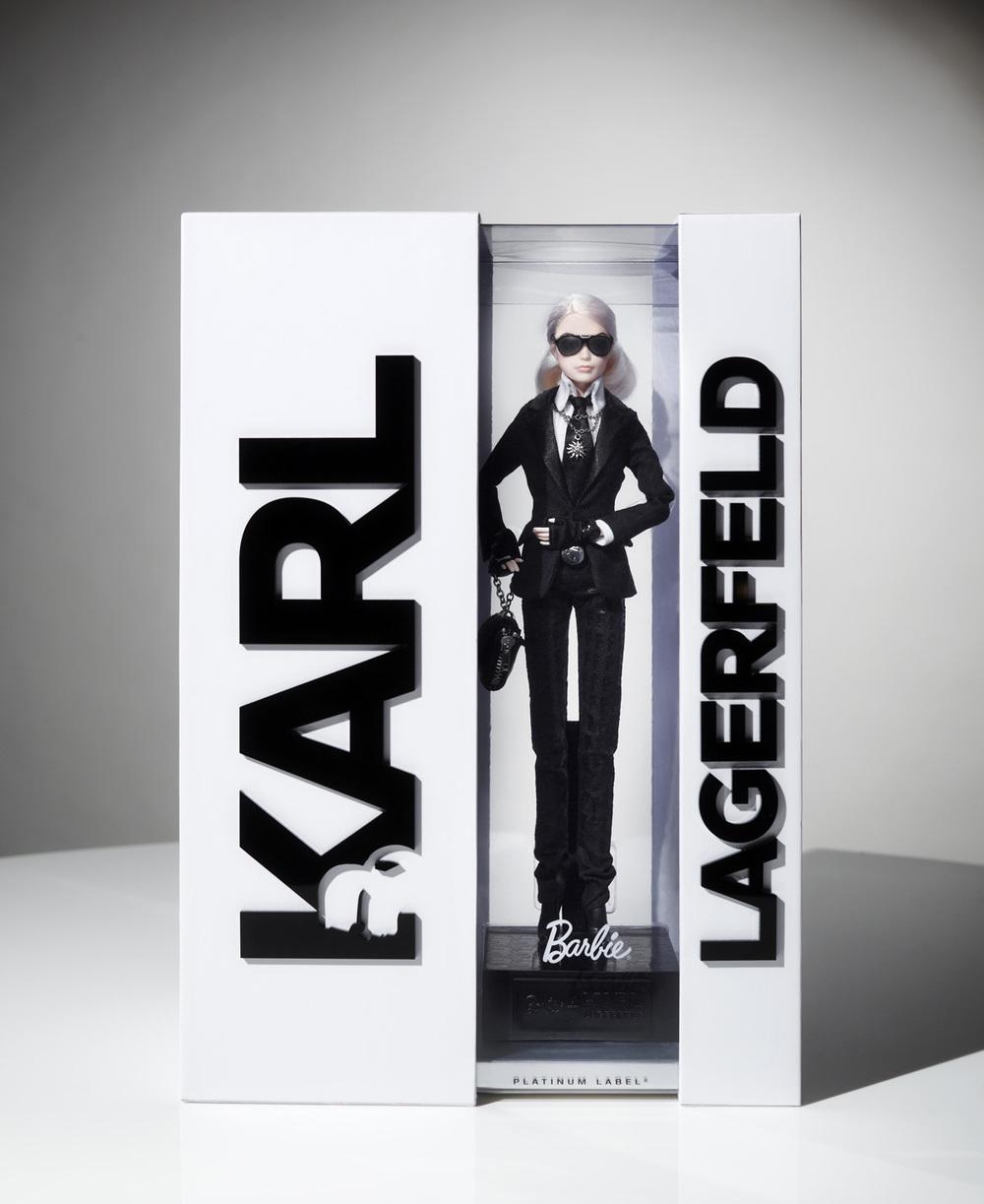 Karl Lagerfeld Barbie