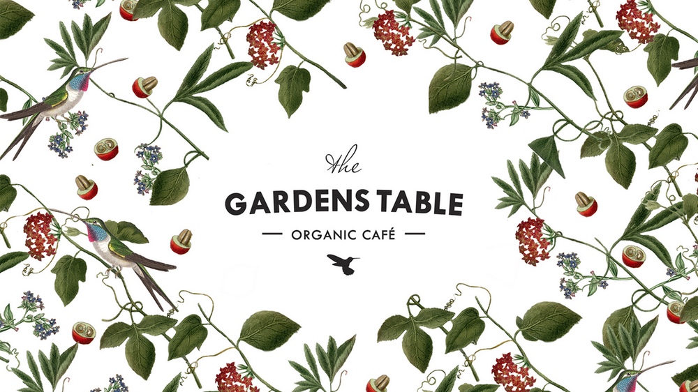 The Gardens Table Organic Caf 233 The Dieline Packaging