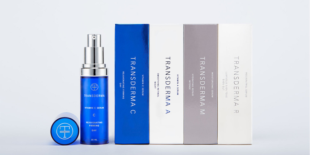 Transderma Skin Care The Dieline Branding Amp Packaging