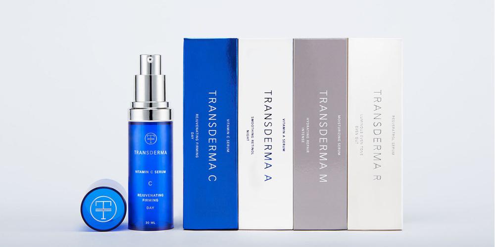 Transderma Skin Care The Dieline Branding Amp Packaging