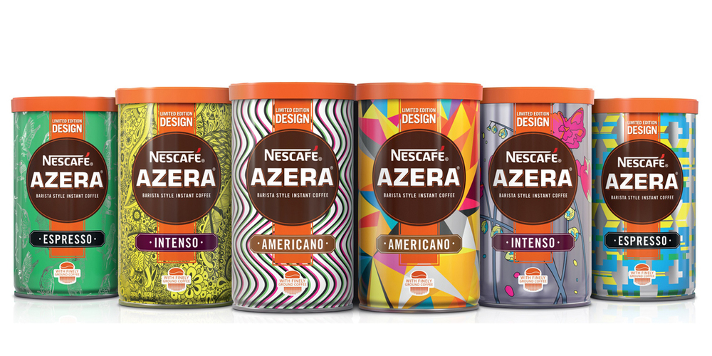 nescaf azera and tesco embrace new creative talent with