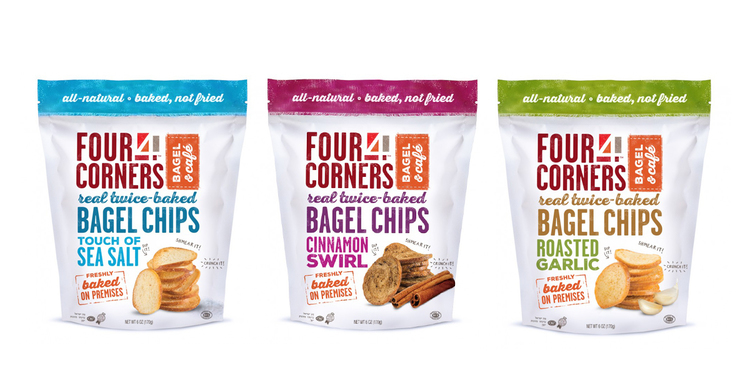 Bagel Chips Brands Four Corners Bagel Chips — The