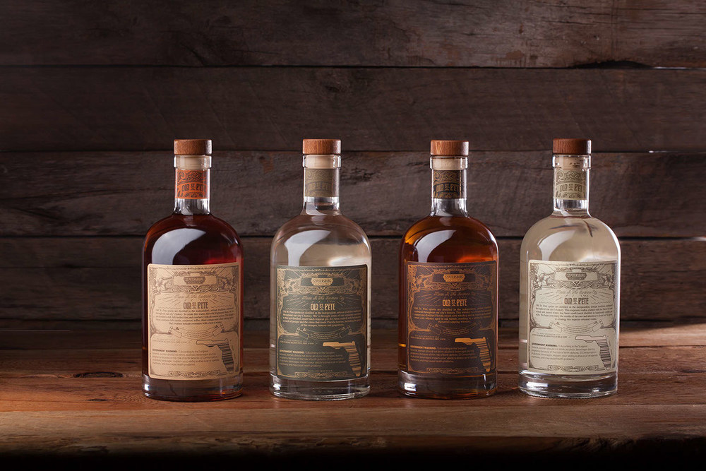 Old St Pete Craft Spirits The Dieline Packaging
