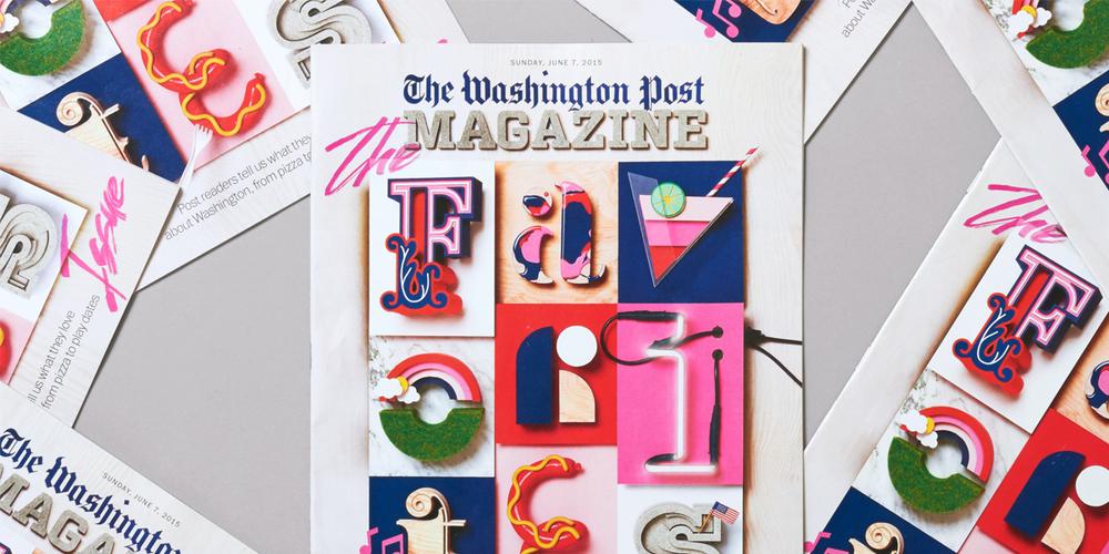 The Washington Post Favorites Magazine The Dieline Packaging Branding Design