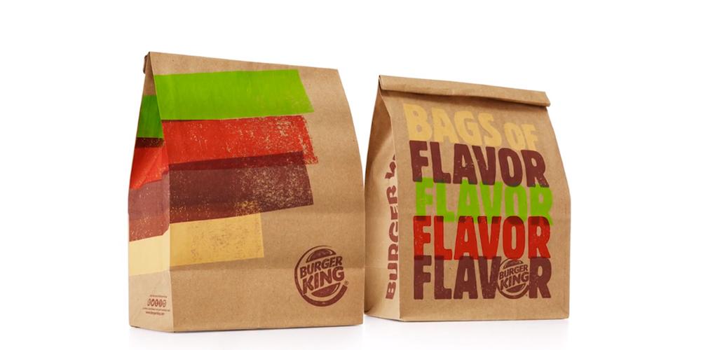 Burger King Rebrand The Dieline