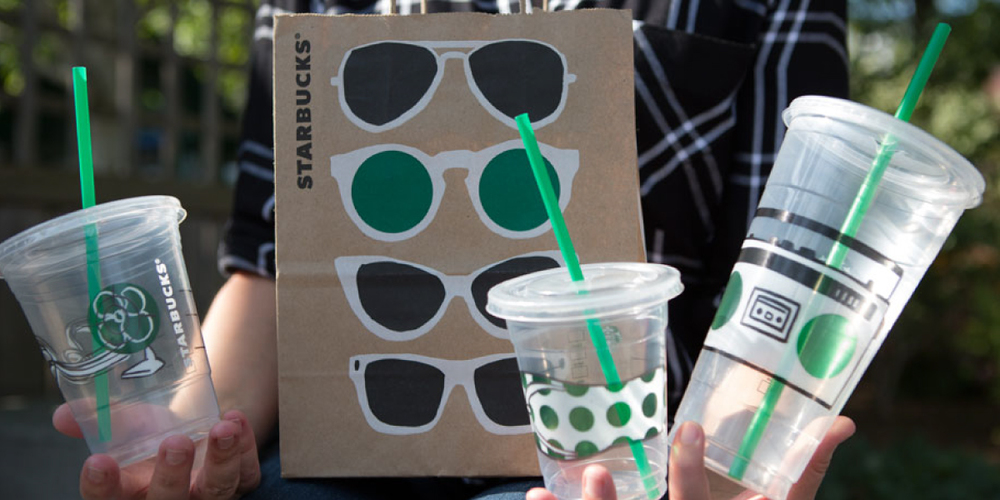 If Youve Gone To Starbucks Cool Down With A Nice Iced Coffee This Summer Season Probably Noticed Their Fun And Unique Cup Designs Hand Drawn