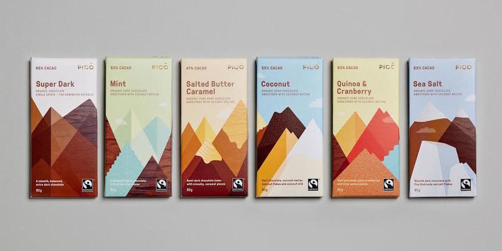 Pico Chocolate The Dieline Branding Amp Packaging Design