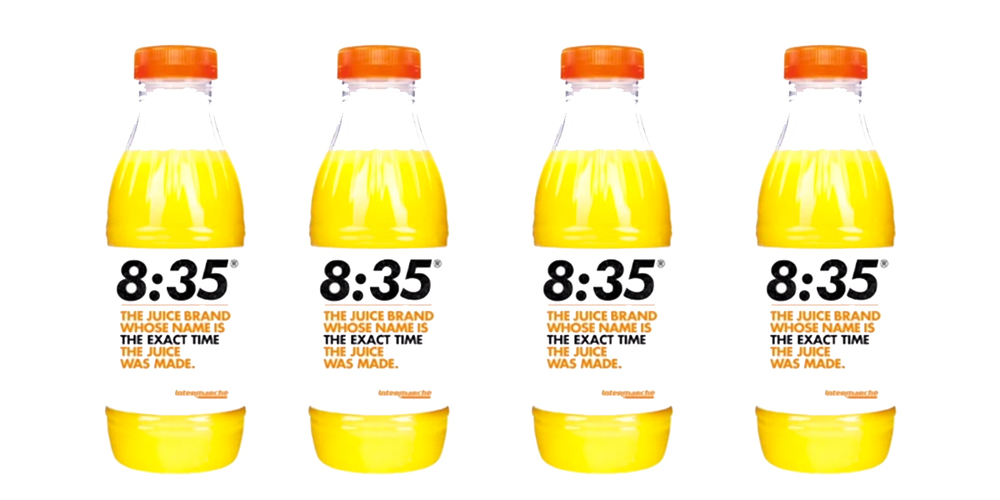 The freshest orange juice brand the dieline packaging for Wine and orange juice name