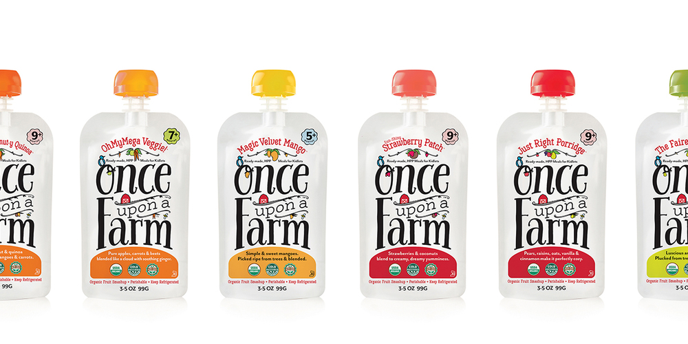 Once Upon A Farm — The Dieline - Branding & Packaging Design