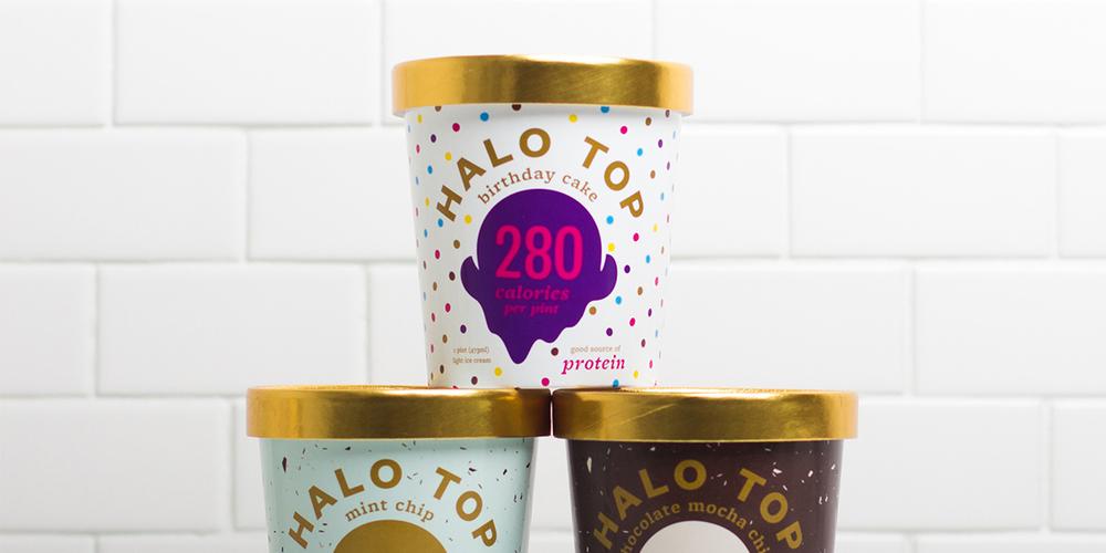 Halo Top Ice Cream The Dieline Packaging Branding Design