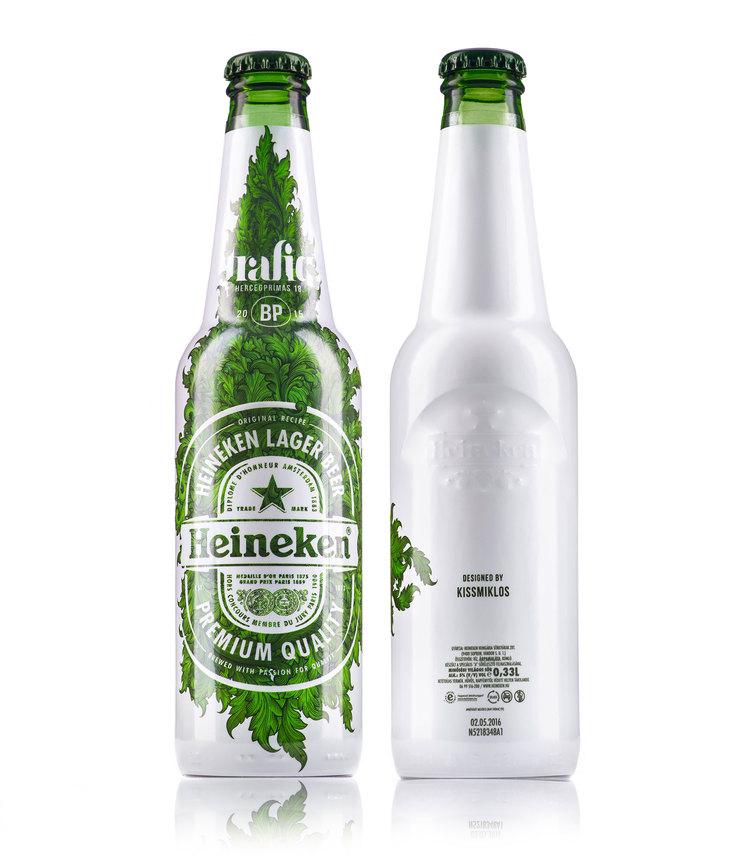 Heineken Limited Edition: Trafiq — The Dieline - Branding ...