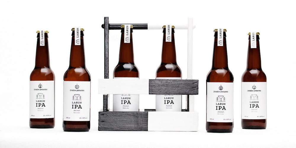 larun ipa craft beer  u2014 the dieline