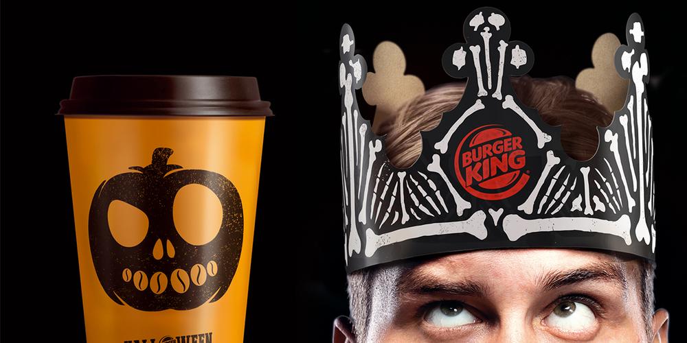 Burger King Halloween Packaging — The Dieline | Packaging ...