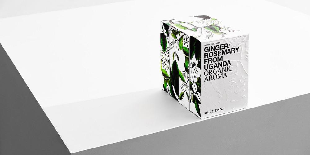 Organic Aroma By Kille Enna The Dieline Branding