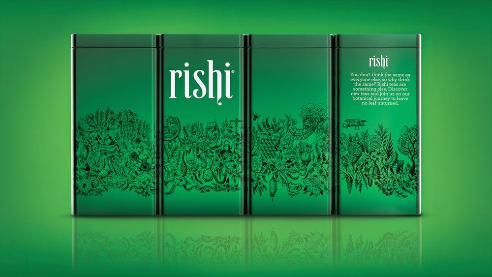 Rishi Tea Redesign — The Dieline | Packaging & Branding ...