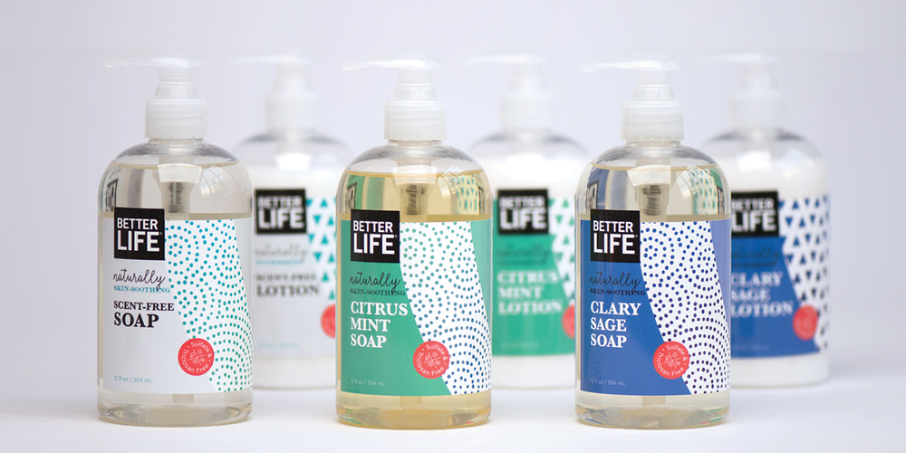 Better Life Natural Cleaning Products The Dieline