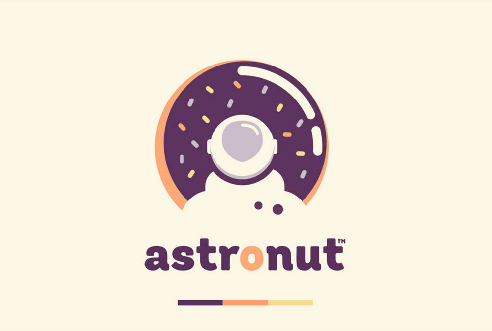 Astronut donuts from outer space the dieline for Outer space design richmond