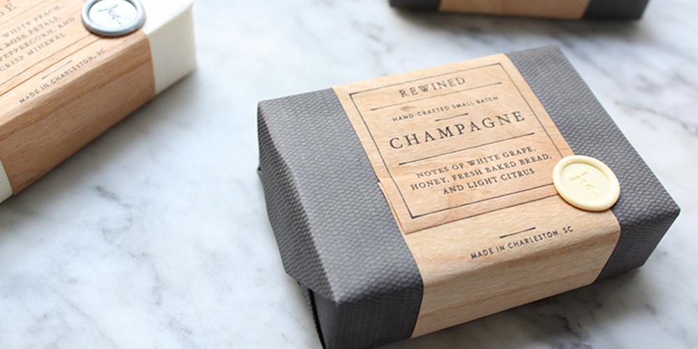 Rewined Soap The Dieline Packaging Amp Branding Design