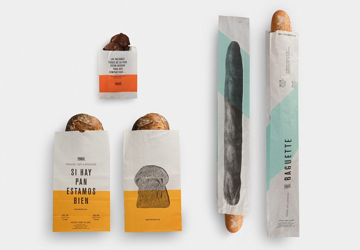 Luxury bakery product packaging